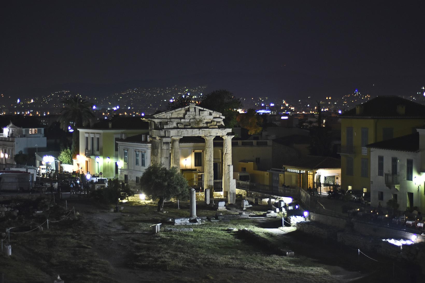 вечерна Атина
