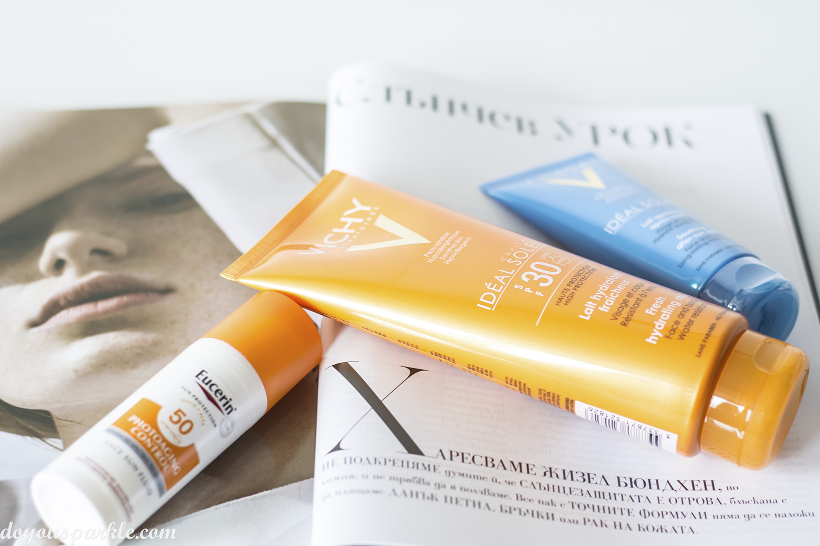 Face and sunscreen products