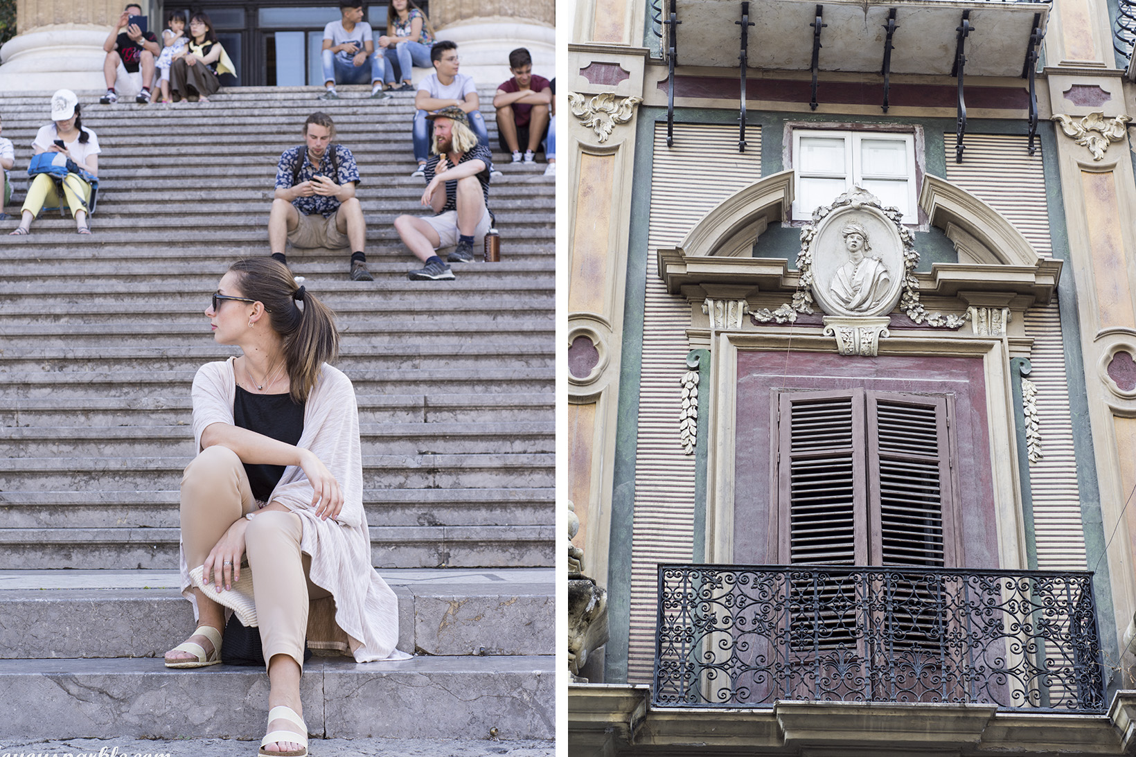 stairs in Palermo