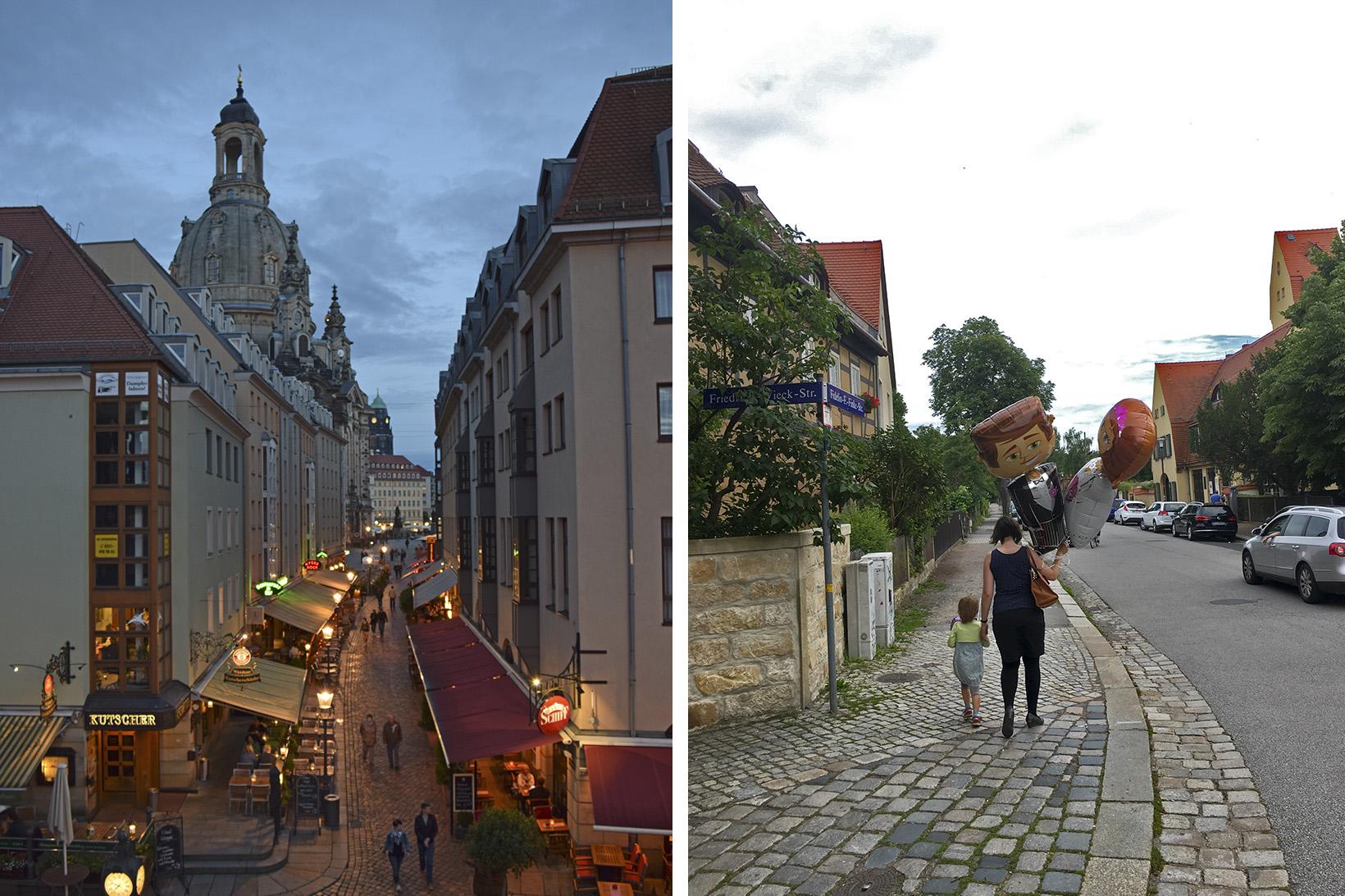 Улиците на Дрезден