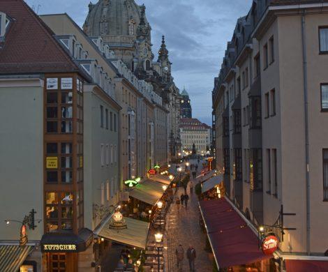 Дрезден, Германия. Пътешествие из Европа