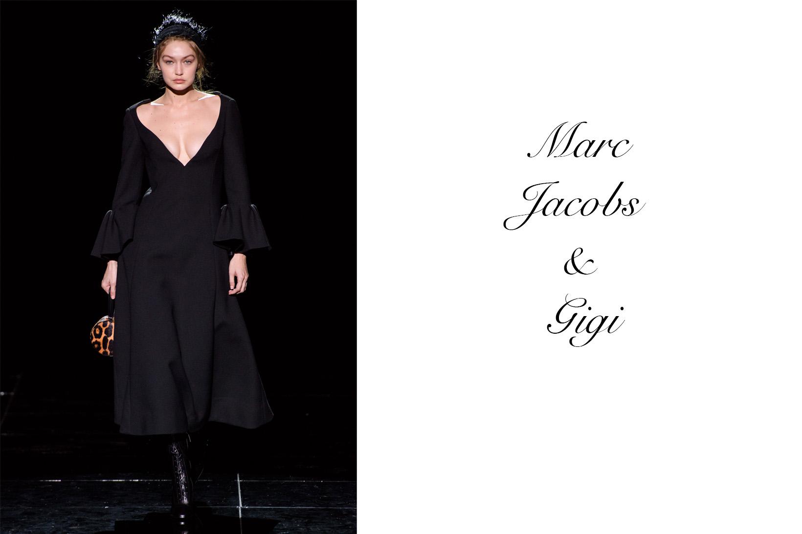 Gigi and Marc Jacobs